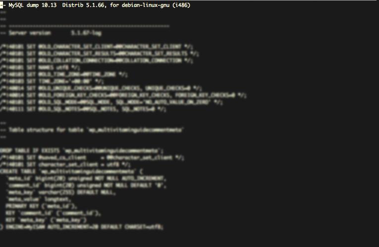 How do I backup my database over SFTP? – Support Center